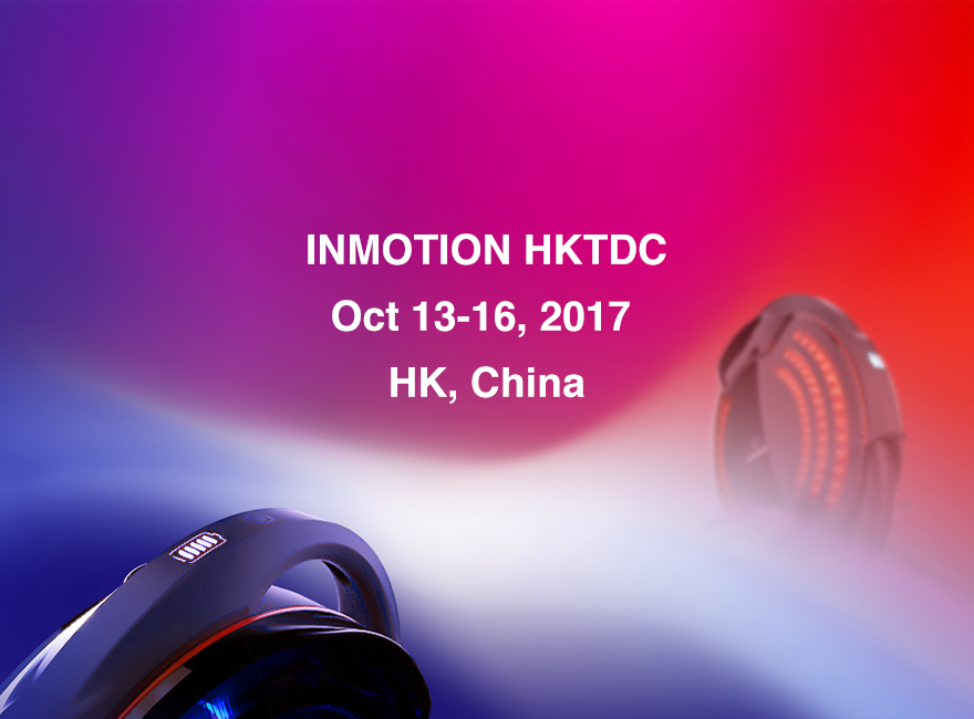 Inmotion Smart Vehicles Were a Big Hit at HKTDC 2017