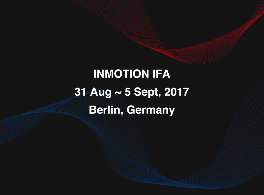 Inmotion Expands European Market at IFA 2017