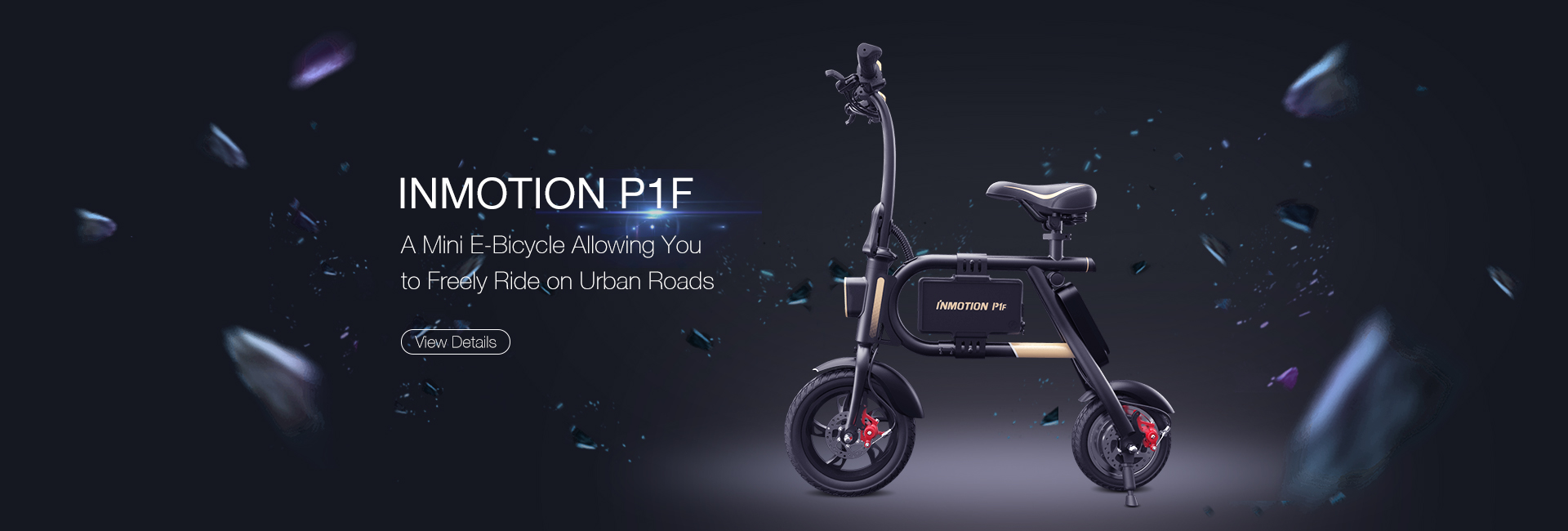 Inmotion Electric Bike P1F