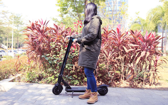 foldable kick scooter for adults
