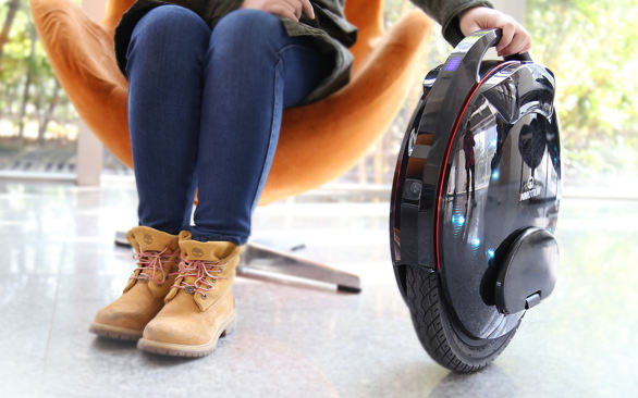 single wheel electric bike