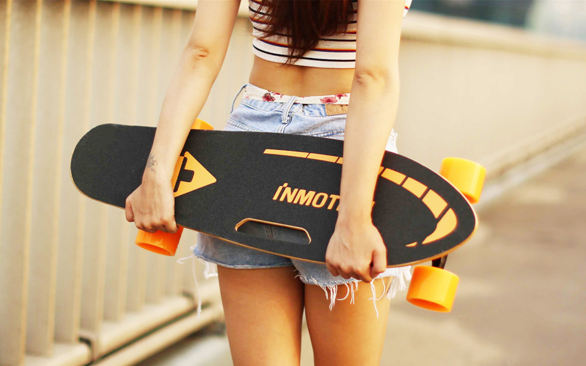 girl complete skateboards-girl complete skateboards -- INMOTION K1