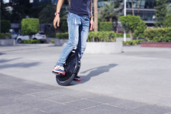 single wheel balance electric scooter