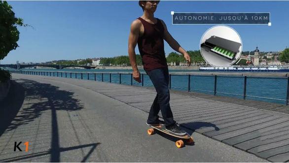 InmotionFrance-SkateElecriqueK1