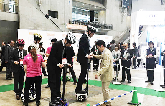 INMOTION Presented at Next Generation Mobility Exhibition in Japan