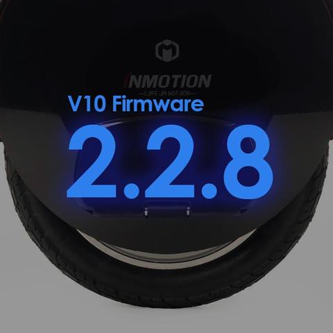 Inmotion V10 Firmware Update 2.2.8